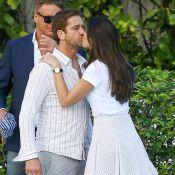 Gerard Butler : Un baiser fougueux, des rumeurs de séparation relancées