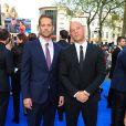 Paul Walker et Vin Diesel à Londres le 7 mai 2013.