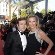 Laurence Ferrari et son mari Renaud Capuçon au Festival de Cannes, le 17 mai 2013.