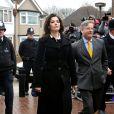 Nigella Lawson arrive devant la Cour de Londres le 4 décembre 2013.
