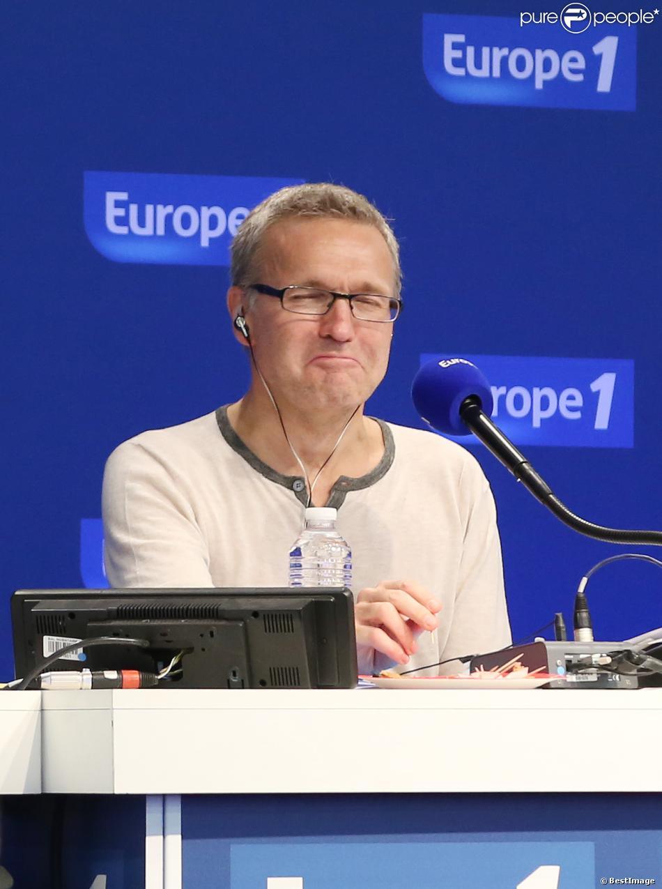 L'animateur Laurent Ruquier présente On va s'gener, près de Saint-Germain-en-Laye, en septembre 2013.