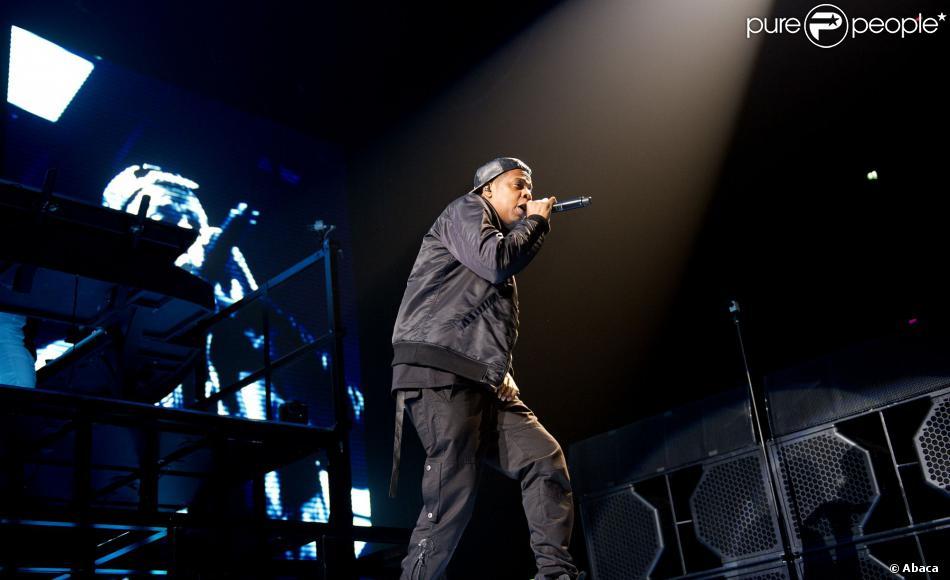 Jay Z sur la scène du Ziggo Dome à Amsterdam, le 29 octobre 2013.