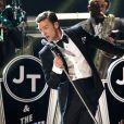 Justin Timberlake lors des 55e Grammy Awards au Staples Center, le 10 février 2013.