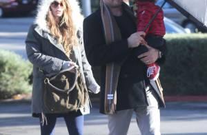 Megan Fox, enceinte : Baby bump rond mais discret, virée avec ses deux hommes