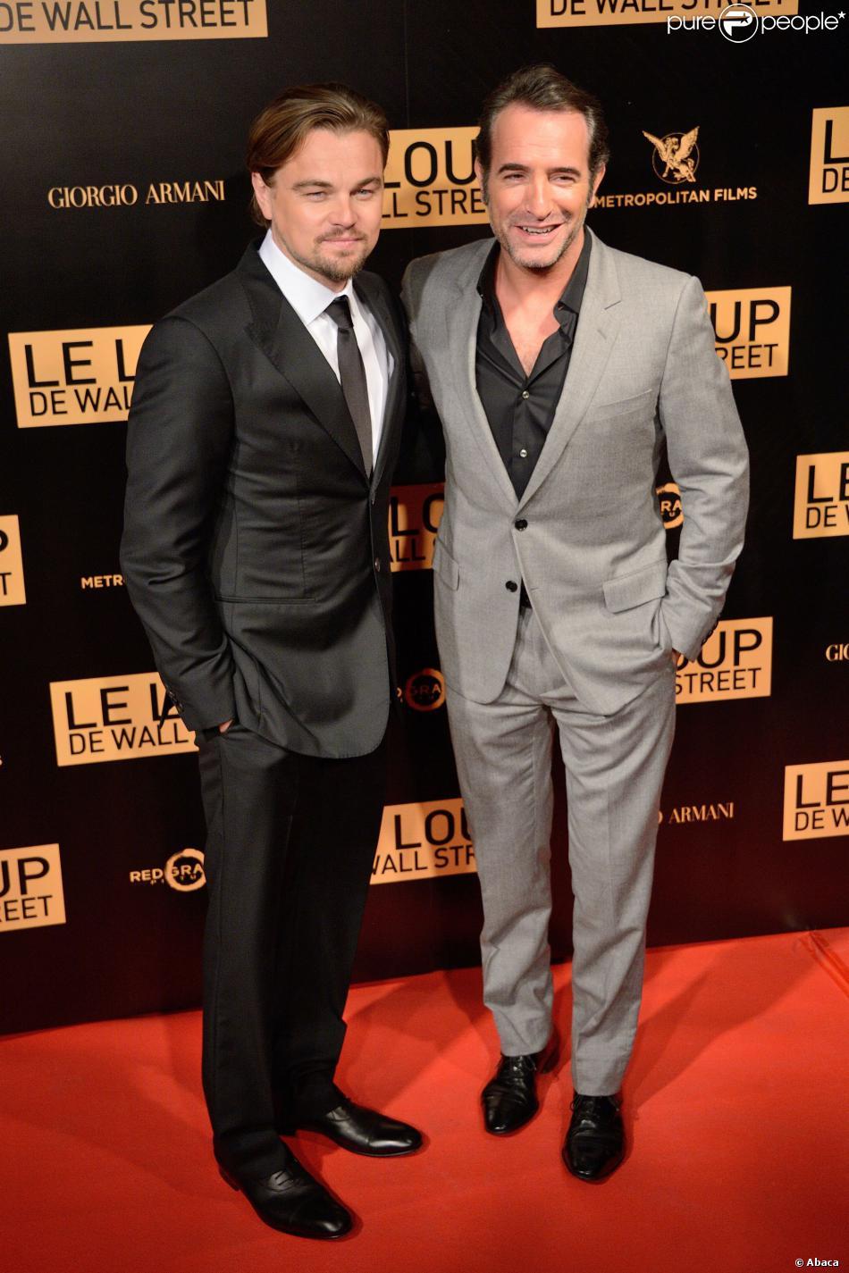 Leonardo dicaprio et jean dujardin l 39 avant premi re for Dujardin dicaprio