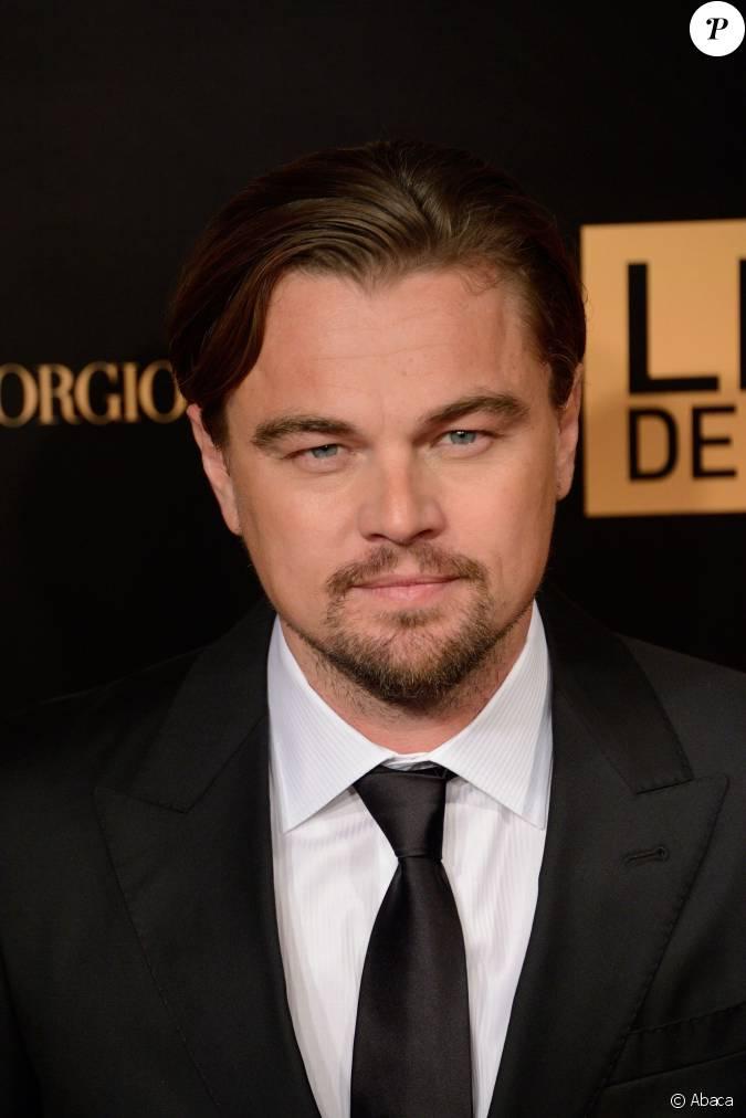 Leonardo dicaprio attending the premiere of the film le for Dujardin dicaprio