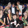 Exclusif - Baptiste Giabiconi - Finale de l'élection de Top Model Belgium à Mons en Belgique le 8 décembre 2013.