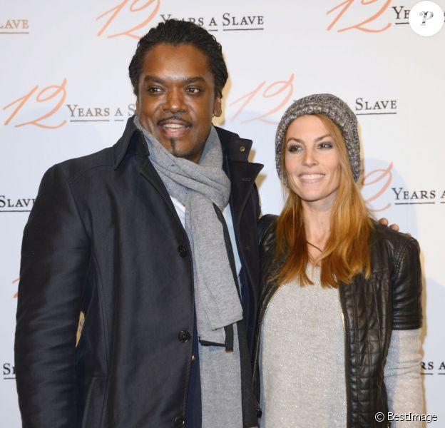 Anthony Kavanagh et sa femme Alexandra lors de la première du film 12 Years a Slave à l'UGC Normandie, Paris, le 11 décembre 2013.
