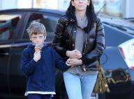 Liberty Ross : Courageuse maman avec son fils, son portrait craché