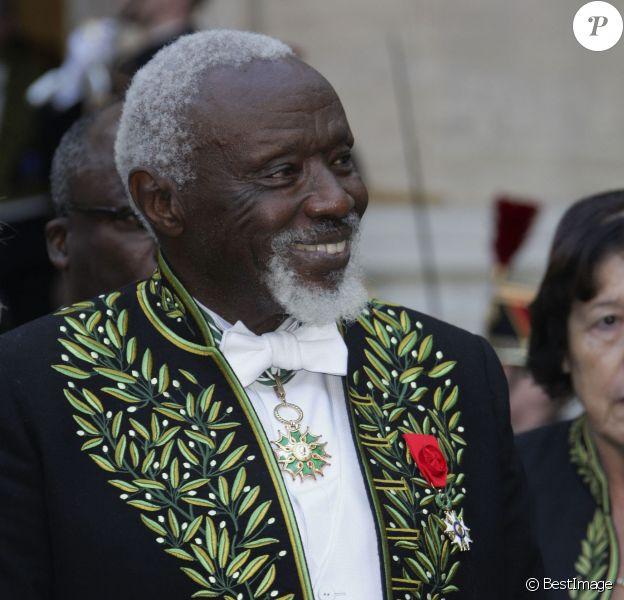 Ousmane Sow devient membre de l'Académie des beaux-arts à Paris le 11 décembre 2013