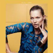 Kate Moss : Nouvelle égérie d'Eleven Paris, prête pour l'été 2014