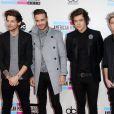 "One Direction (Zayn Malik, Liam Payne, Louis Tomlinson, Harry Styles et Niall Horan) à la soiree ""American Music Awards 2013"" à Los Angeles, le 24 novembre 2013."
