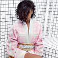 La chanteuse Rihanna prend la pose pour la campagne Balmain printemps/été 2014