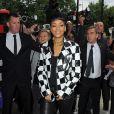 Rihanna arrivant a son hôtel à Londres le 11/09/2013