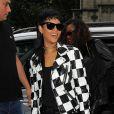 Rihanna toujours lookée arrivant a son hôtel à Londres le 11/09/2013