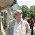 Jean-Louis Foulquier au tournoi de Roland-Garros, à Paris le 2 juin 2007. Le journaliste et créateur des Francofolies de La Rochelle est décédé le 10 décembre 2013.
