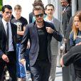 David Beckham lors du défilé homme Louis Vuitton printemps-été 2014. Paris, le 27 juin 2013.