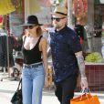 Nicole Richie et Joel Madden en pleine séance shopping à Los Angeles, le 22 mars 2013.