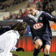 Grégory Sertic (équipe des Girondins de Bordeaux) à Bordeaux dans un match face à Auxerre en mars 2010.