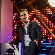 """Exclusif - Damien Sargue lors de l'enregistrement de l'émission """"Ce soir on chante les tubes 2013"""" diffusée le 3 janvier 2014 sur TF1 et présentée par Estelle Denis"""
