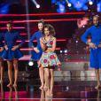 """Exclusif - Tal lors de l'enregistrement de l'émission """"Ce soir on chante les tubes 2013"""" diffusée le 3 janvier 2014 sur TF1 et présentée par Estelle Denis"""