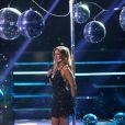 """Exclusif - Vitaa lors de l'enregistrement de l'émission """"Ce soir on chante les tubes 2013"""" diffusée le 3 janvier 2014 sur TF1 et présentée par Estelle Denis"""