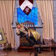 La jolie Laury Thilleman dans Vendredi tout est permis sur TF1, le 27 décembre 2013.