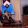 La très jolie Laury Thilleman dans Vendredi tout est permis sur TF1, le 27 décembre 2013.