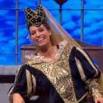 Laury Thilleman dans Vendredi tout est permis sur TF1, le 27 décembre 2013.