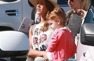 Jessica Alba et Cash Warren : Soleil et sable chaud au Mexique avec leurs filles