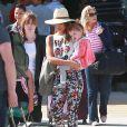 Jessica Alba et ssa fille Haven, à Los Cabos au Mexique, le 28 décembre 2013.