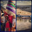 Jessica Alba et Cash Warren à Los Cabos avec leurs amis.