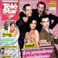 Magazine Télé Star du 4 au 10 janvier 2013.