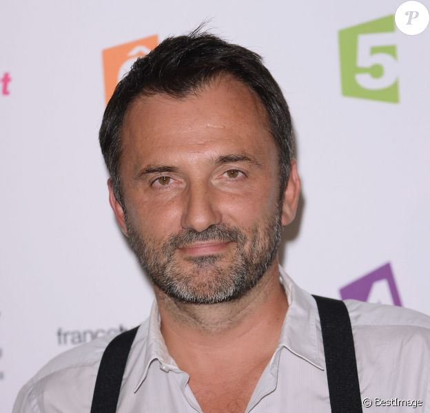 Frédéric Lopez - Conférence de presse de rentrée de France TV au Palais de Tokyo. Août 2013.