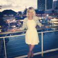 Caroline Receveur profite d'un séjour en amoureux avec son chéri Valentin. Les amoureux se sont rendus à Miami.