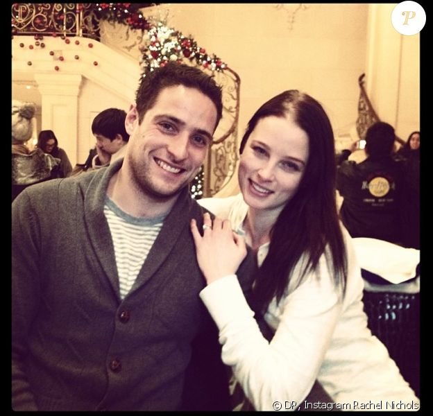 Rachel Nichols et Michael Kershaw, le 30 décembre 2013 à New York.