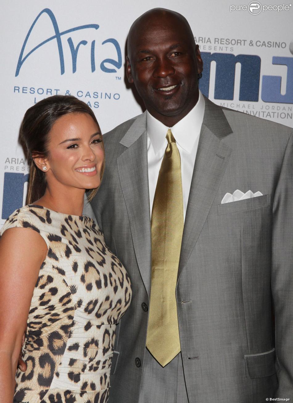 Michael Jordan et sa femme Yvette Prieto lors du 11e Annual Michael Jordan celebrity invitational gala à l'Aria Resort and Casino de Las Vegas le 30 mars 2012