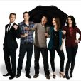 Le casting de How I Met Your Mother : Alyson Hannigan, Cobie Smulders, Jason Segel, Josh Radnor, Neil Patrick Harris.