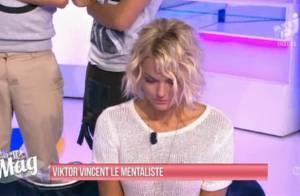 Caroline Receveur : La jolie Hollywood Girl hypnotisée sur le plateau du Mag