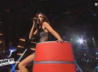 The Voice 3 : Jenifer, tigresse sexy, lors du show en live des coachs sur Queen