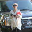 """""""Elsa Pataky (enceinte) à Santa Monica, le 9 janvier 2014."""""""