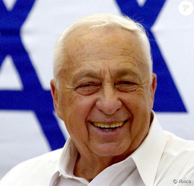 Ariel Sharon à Jérusalem le 6 août 2002.