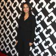 """Rosario Dawson au vernissage de l'exposition """"Journey of a Dress"""" consacrée à la créatrice Diane Von Furstenberg, à Los Angeles le 10 janvier 2014."""