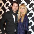 """Rachel Zoe et son mari Rodger Berman au vernissage de l'exposition """"Journey of a Dress"""" consacrée à la créatrice Diane Von Furstenberg, à Los Angeles le 10 janvier 2014."""