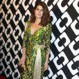 """Marisa Tomei au vernissage de l'exposition """"Journey of a Dress"""" consacrée à la créatrice Diane Von Furstenberg, à Los Angeles le 10 janvier 2014."""