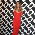 """Erin Wasson au vernissage de l'exposition """"Journey of a Dress"""" consacrée à la créatrice Diane Von Furstenberg, à Los Angeles le 10 janvier 2014."""