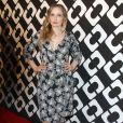 """Julie Delpy au vernissage de l'exposition """"Journey of a Dress"""" consacrée à la créatrice Diane Von Furstenberg, à Los Angeles le 10 janvier 2014."""