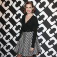 """Allison Williams au vernissage de l'exposition """"Journey of a Dress"""" consacrée à la créatrice Diane Von Furstenberg, à Los Angeles le 10 janvier 2014."""
