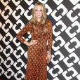 """Molly Sims au vernissage de l'exposition """"Journey of a Dress"""" consacrée à la créatrice Diane Von Furstenberg, à Los Angeles le 10 janvier 2014."""