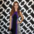 """Ahna O'Reilly au vernissage de l'exposition """"Journey of a Dress"""" consacrée à la créatrice Diane Von Furstenberg, à Los Angeles le 10 janvier 2014."""